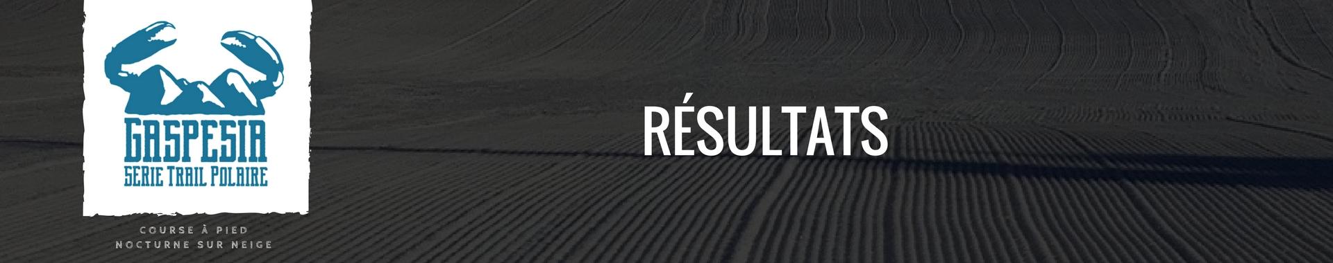 Trail Polaire Matane Résultats